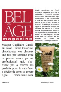 Belle Age, march 2010